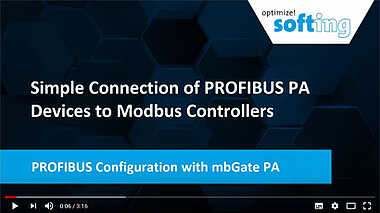 PROFIBUS Configuration with mbGate PA