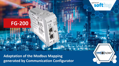 FG-200: Adaption of the modbus mapping generated by the Communication Configurator