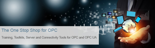 OPC Server, Toolkits, Training, Connectivity