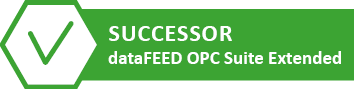 Successor | dataFEED OPC Suite Extended