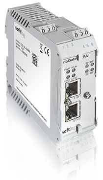 mbGate PA | Simple connection of PROFIBUS PA Slave devices to Modbus control systems via internal I/O mapping