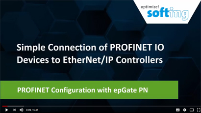 PROFINET Configuration with epGate PN