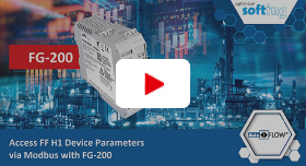 Video: Access FF H1 Device Parameters via Modbus with FG-200