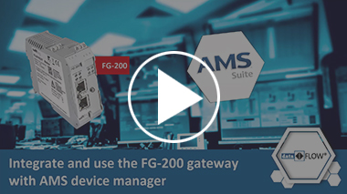 Video: Integrate and use the FG-200 gateway with AMS device manager