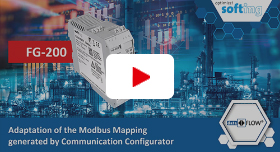 Video: Adaption of the Modbus Mapping generated by the Communication Configurator