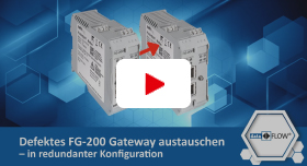 Video: Defektes FG-200 Gateway austauschen – In redundanter Konfiguration