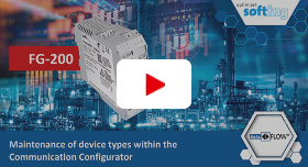 Video: Maintenance of Device Types within the Communication Configurator