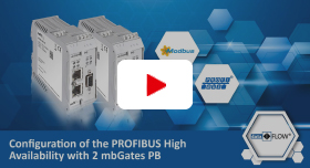 Video: Konfiguration der PROFIBUS-High Availability mit zwei mbGates PB