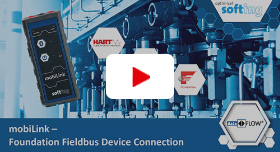 Video: mobiLink – Foundation Fieldbus Device ­Connection