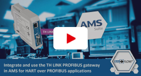 Video: Integrate and Use the TH LINK PROFIBUS Device in AMS for HART over PROFIBUS Applications